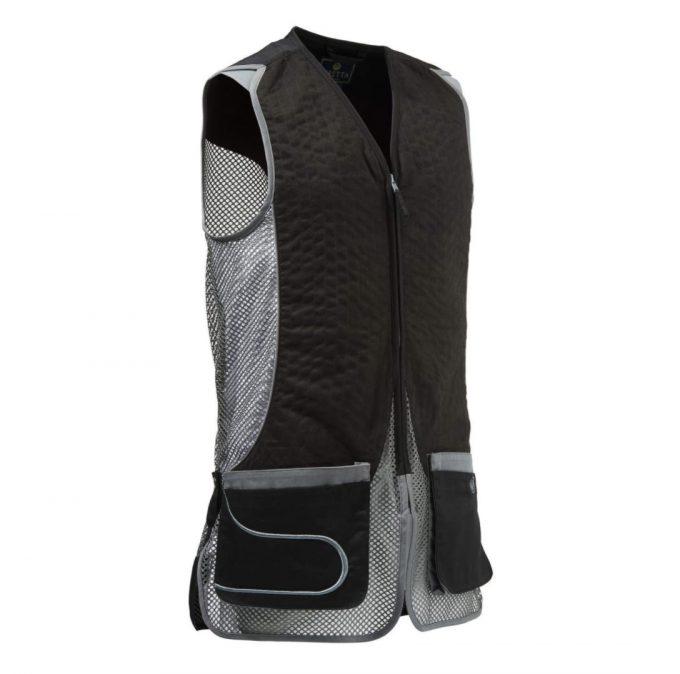 BERETTA DT11 Mesh Shooting Vest Skeet Black And Grey