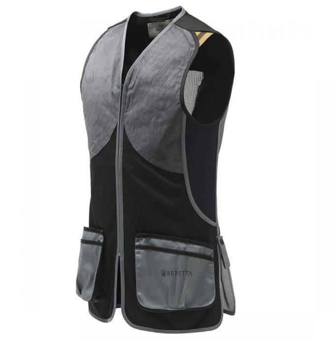 Beretta DT11 Microsuede Slide Vest Black Grey