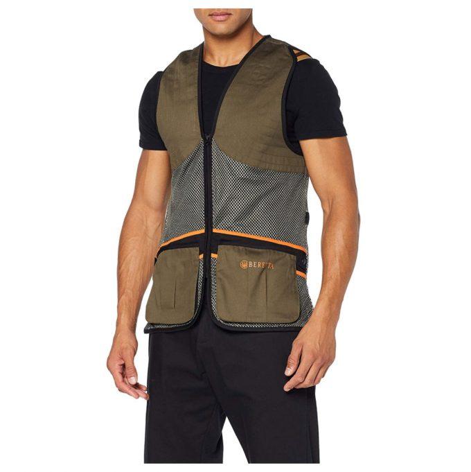 Beretta Men's Full Shooting Vest Green