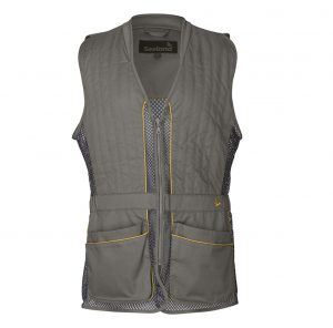 Seeland Lightweight Shooting Vest Grey Front