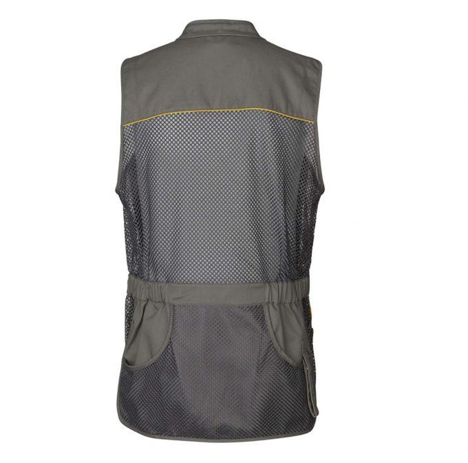 Seeland Lightweight Shooting Vest Grey Back