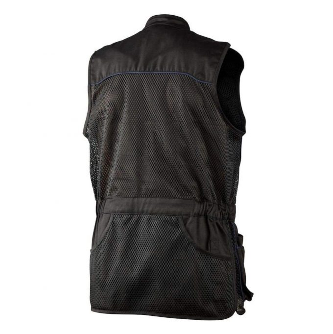 Seeland Men's Skeet Shooting Vest Black Back