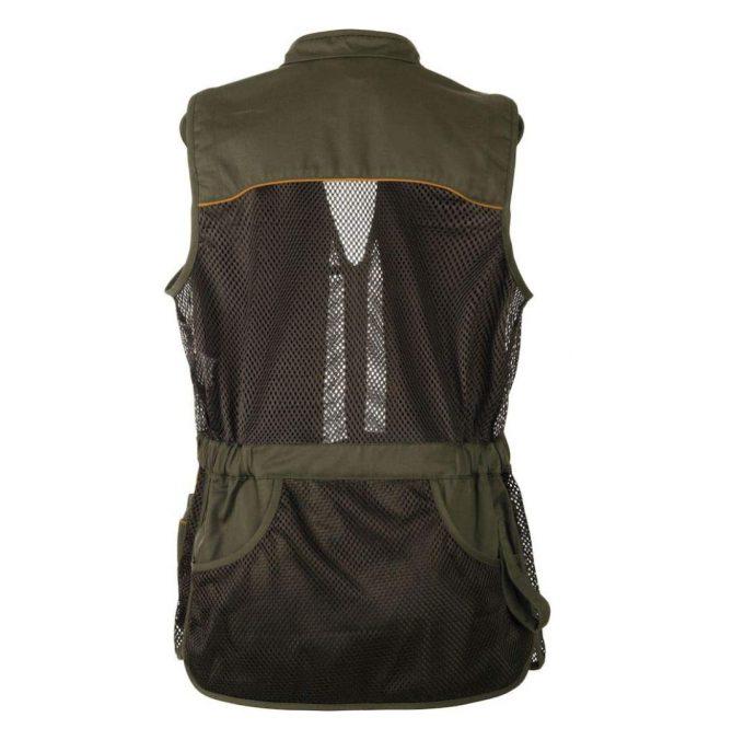 Seeland Skeet 2 Waistcoat Green Back